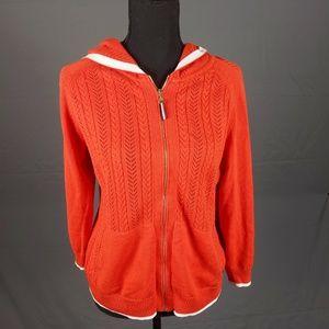 Tommy Hilfiger zip up hoodie (A94)